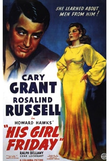 Image of His Girl Friday