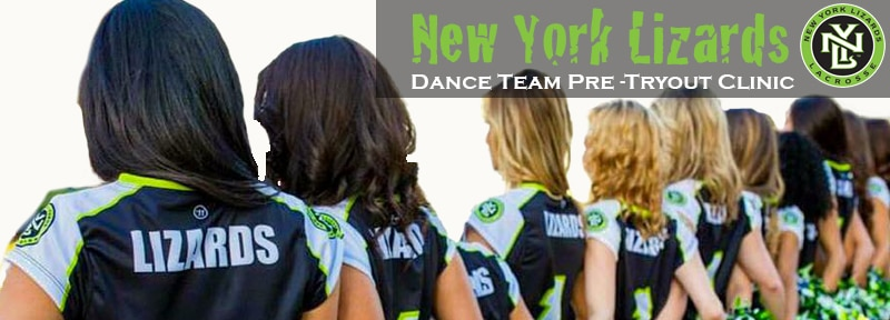 Dance Team Tryout Clinic Banner
