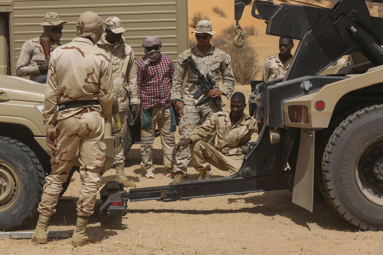 marines gain satisfaction teaching n army u s united in fight against terrorism