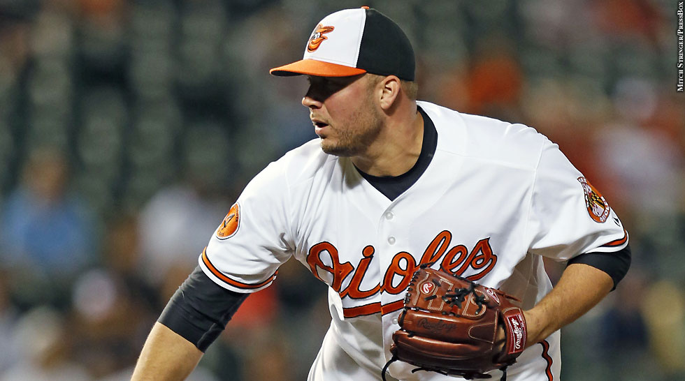 Orioles 2013: Tommy Hunter
