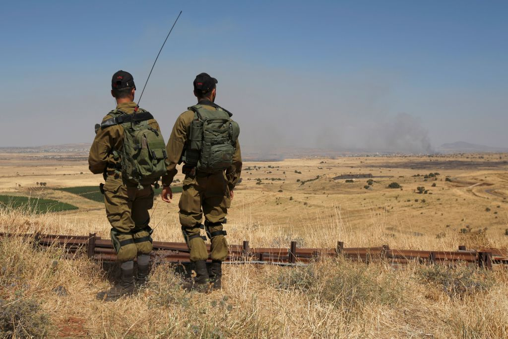 Israel strikes Syrian military positions in response to projectiles – Military Times
