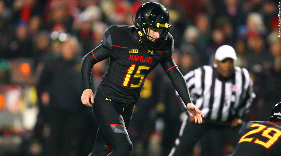 Terps Football 2014-15: Brad Craddock (vs. Michigan State)