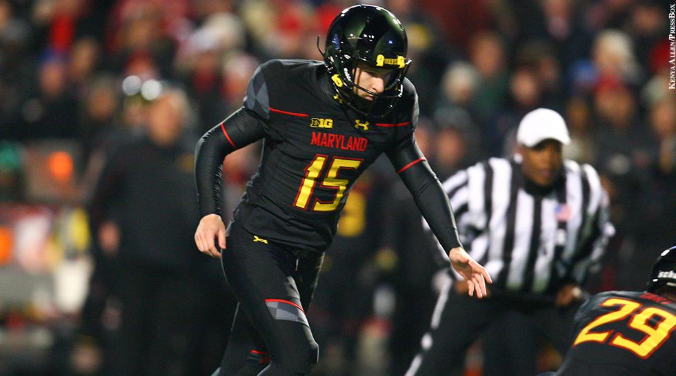 Terps Football 2014-15: Brad Craddock (vs. Michigan State)