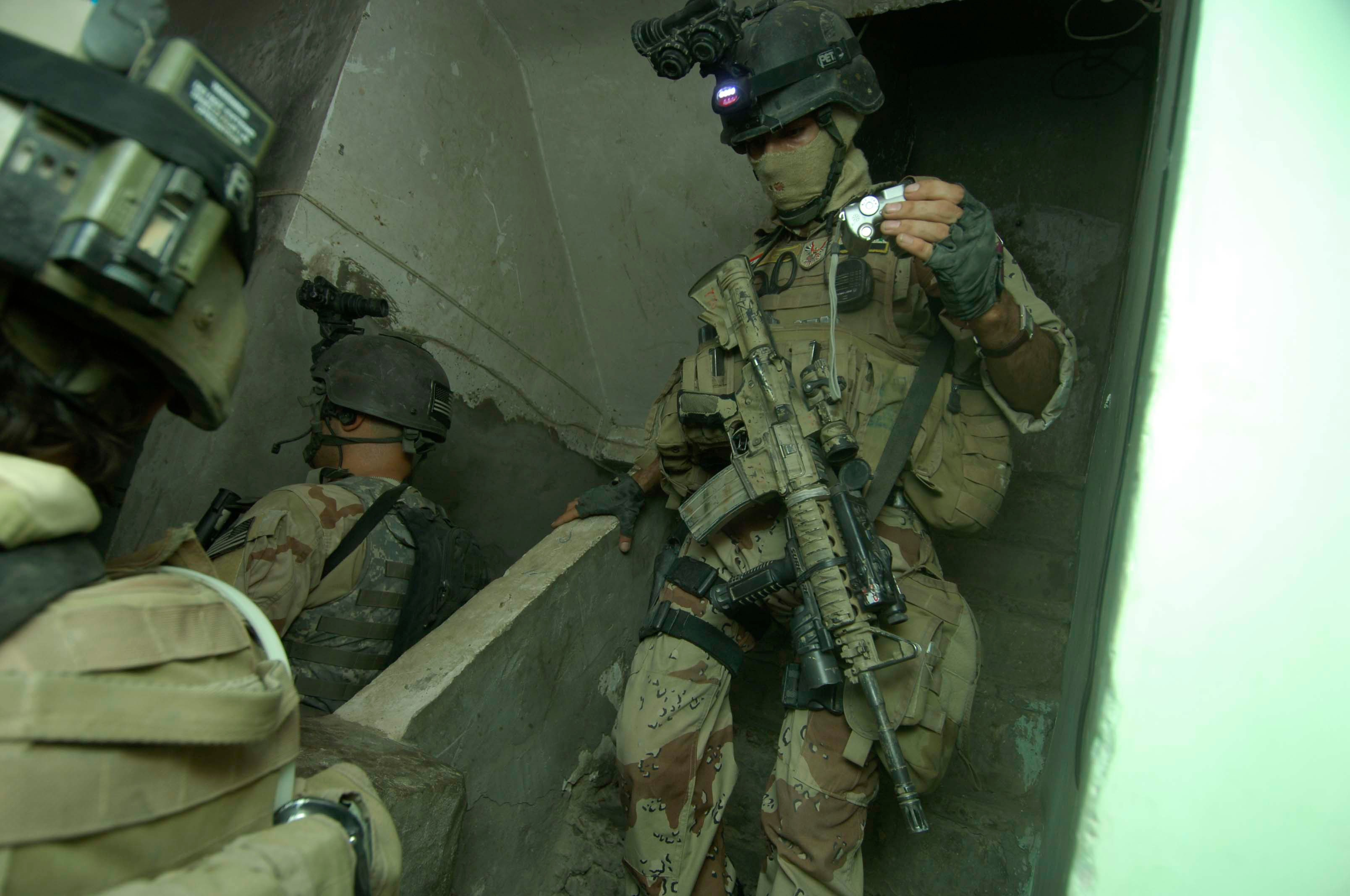 iraq special forces nvgs