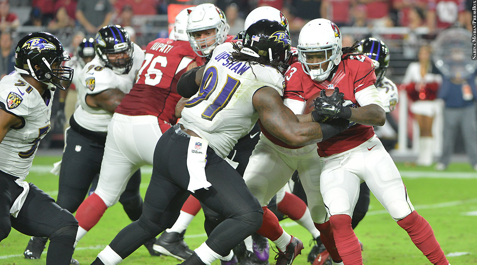 Issue 218: Ravens 2015: Courtney Upshaw