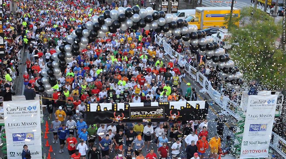 Issue 213: Baltimore Running Festival