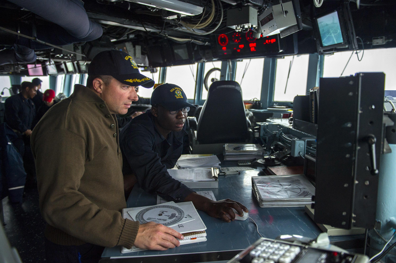 USS Preble operations