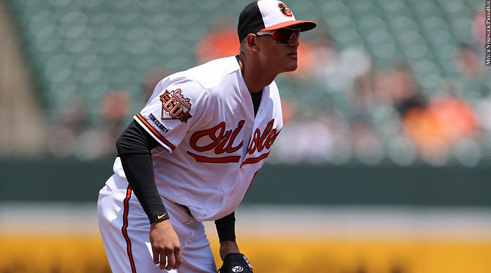 Orioles 2014: Manny Machado (fielding)
