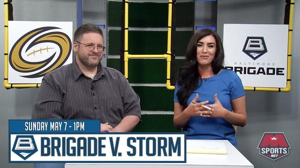 Brigade Gameday - Tampa Bay Storm vs. Baltimore Brigade