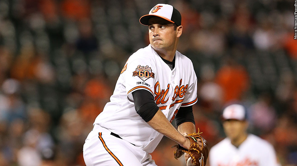 Orioles 2014: T.J. McFarland (glove)