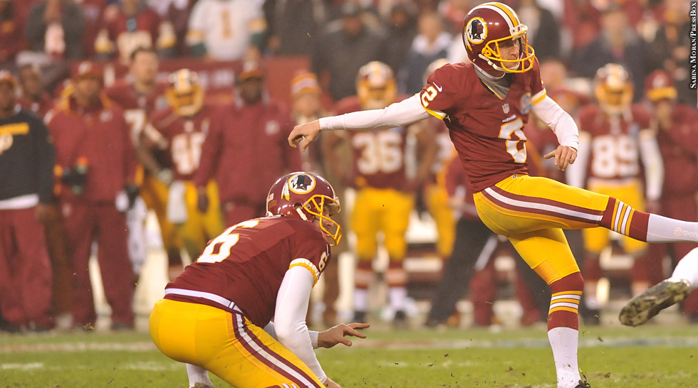 Redskins 2012: Kicker (Sav Rocca, Kai Forbarth)