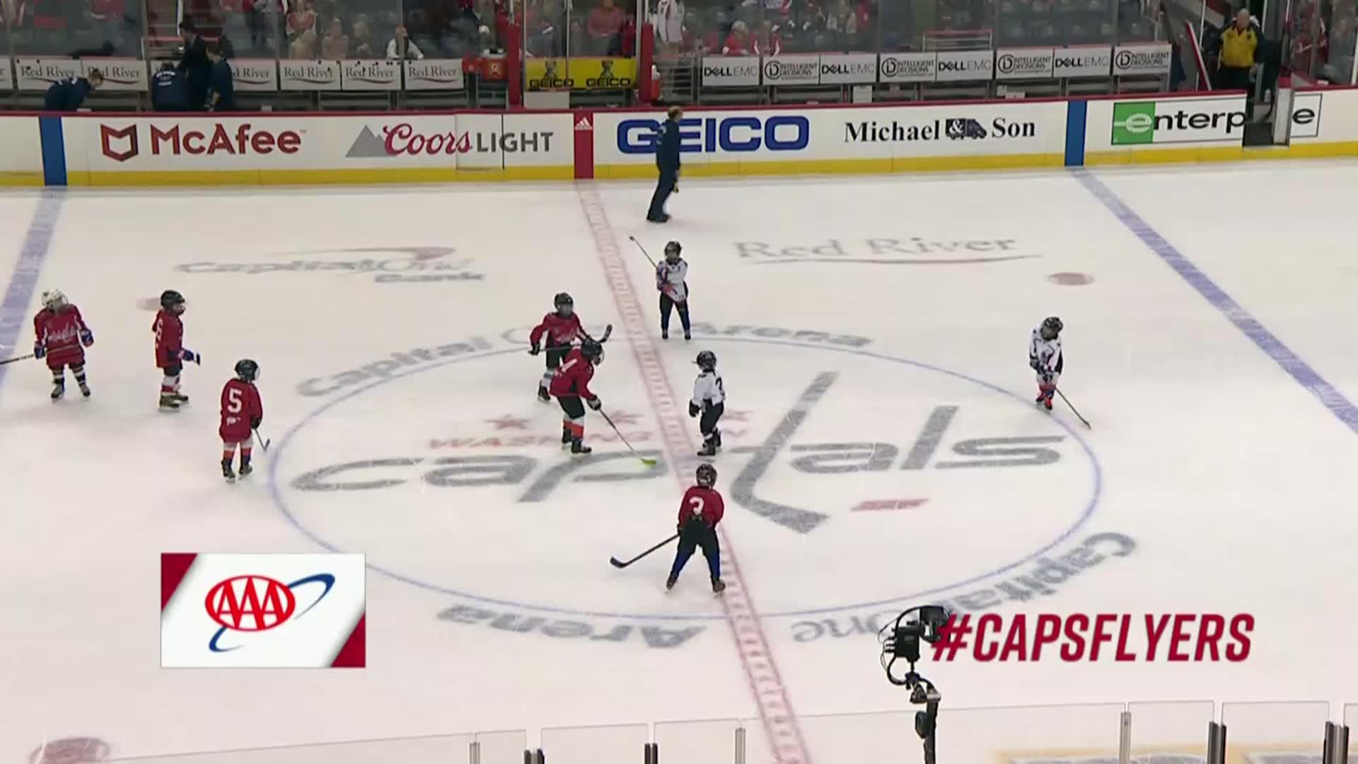 #CapsFlyers Mites on Ice 1/31/18