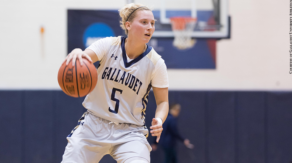 Gallaudet Women's Basketball 2015-16: Zamica Gage