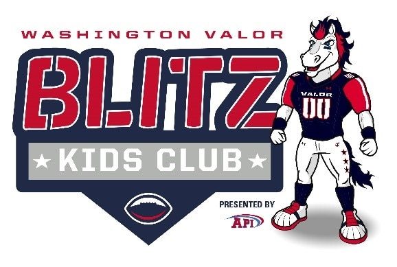 photograph relating to Washington Capitals Schedule Printable named Blitz Little ones Club Washington Valor
