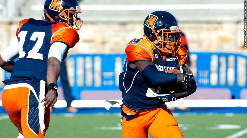 Issue 212: Morgan State Football 2014: Moses Skillon, Herb Walker Jr.