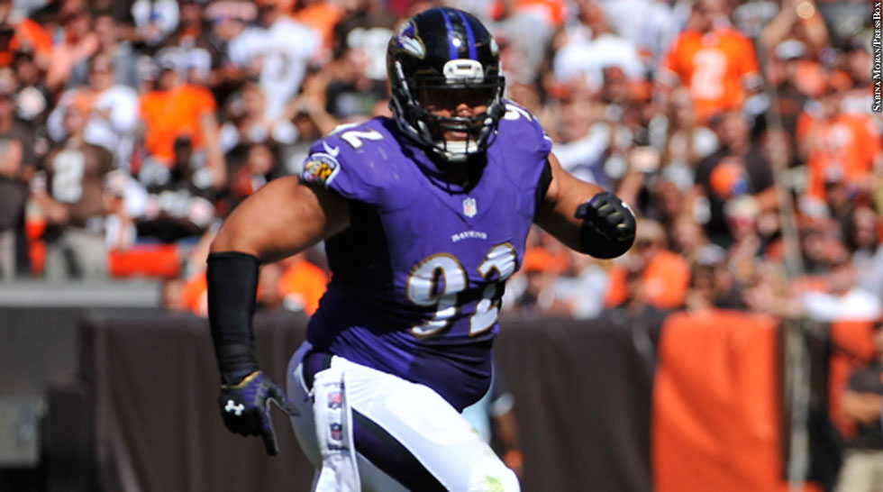Ravens 2014: Haloti Ngata (Week 3 vs. Browns)