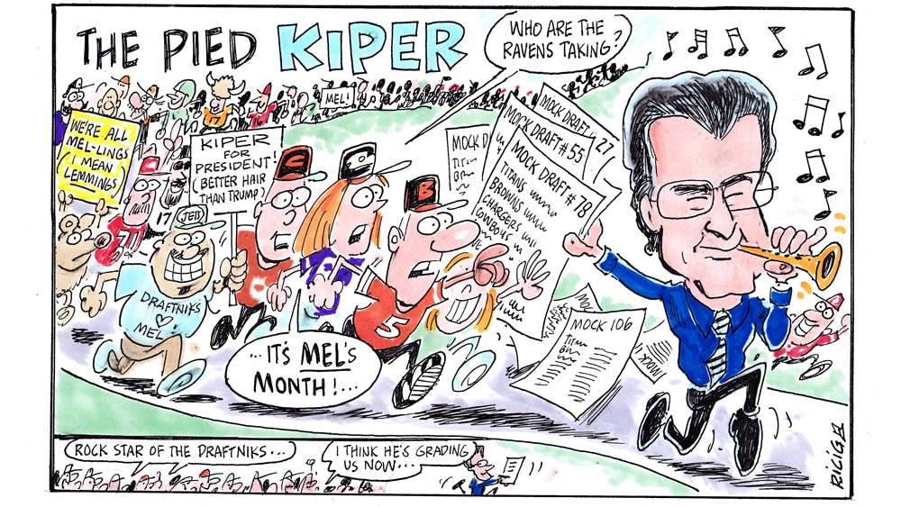 Issue 220: Ricig's World Of Sports: The Pied Kiper