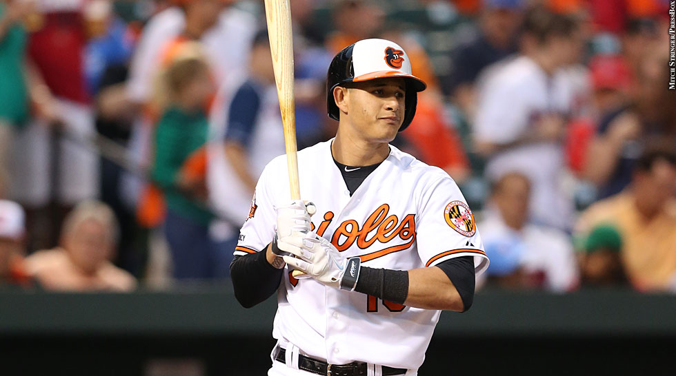 Orioles 2014: Manny Machado (at bat)