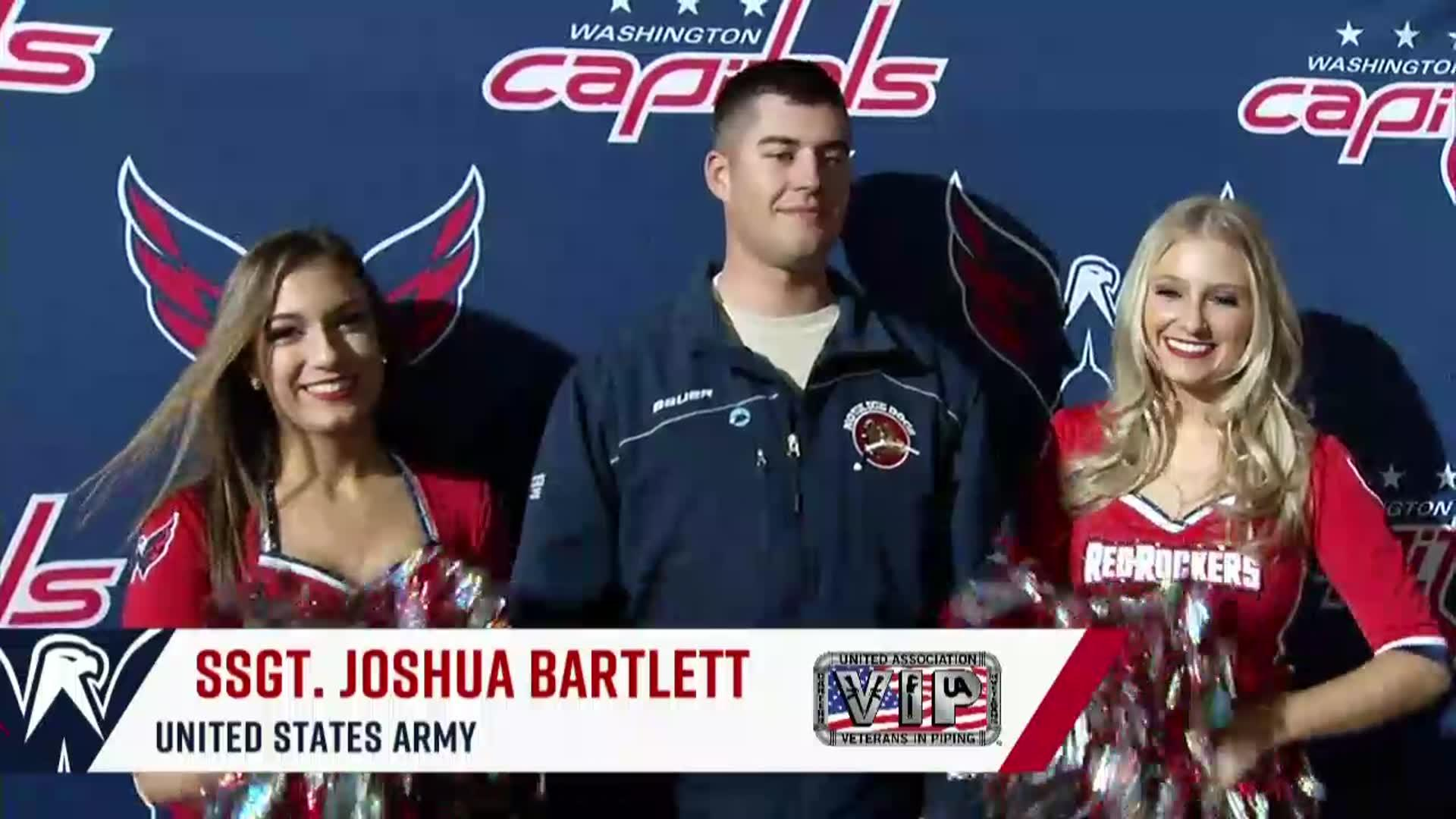 #CapsSens Salute to the Troops 11/22/17