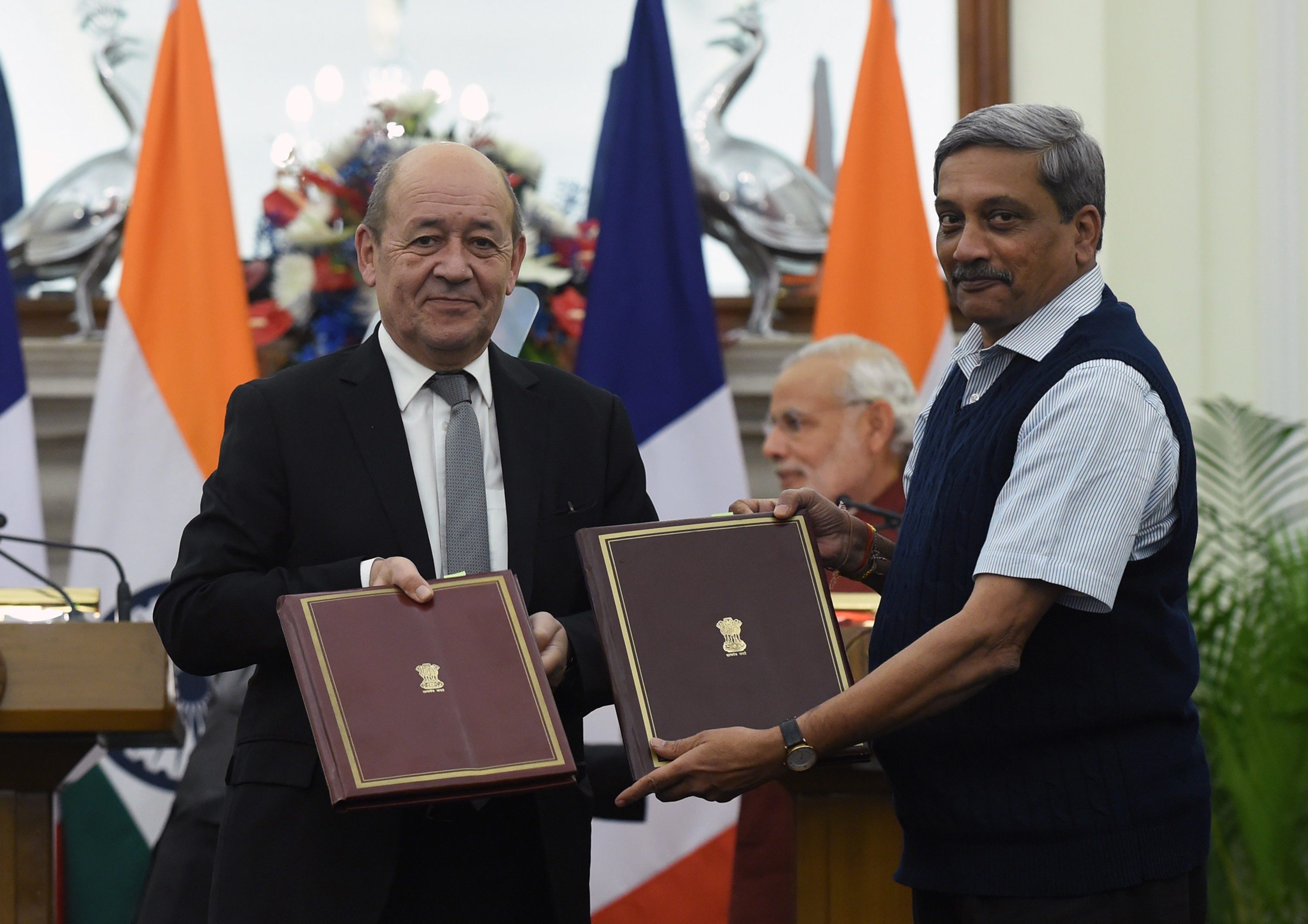 INDIA-FRANCE-DIPLOMACY