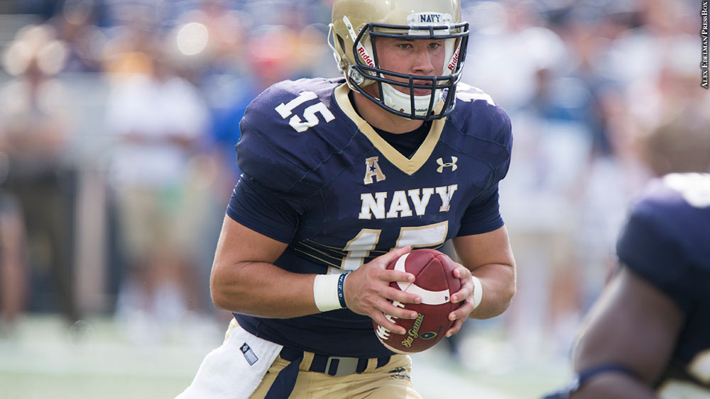 Issue 227: Navy Football 2016: Will Worth