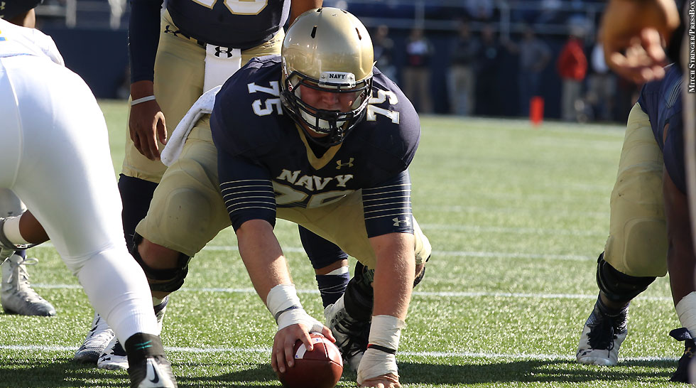 Navy Center Tanner Fleming Reflects On Football Career