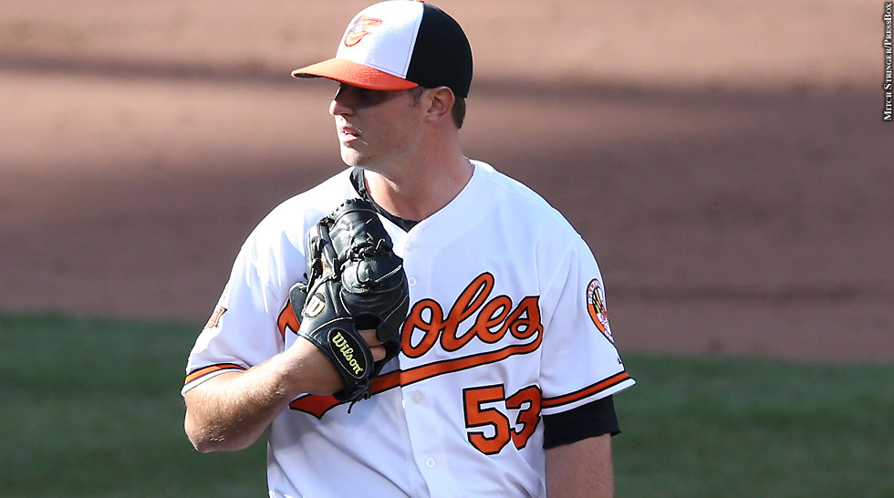 Orioles 2014: Zach Britton (set)