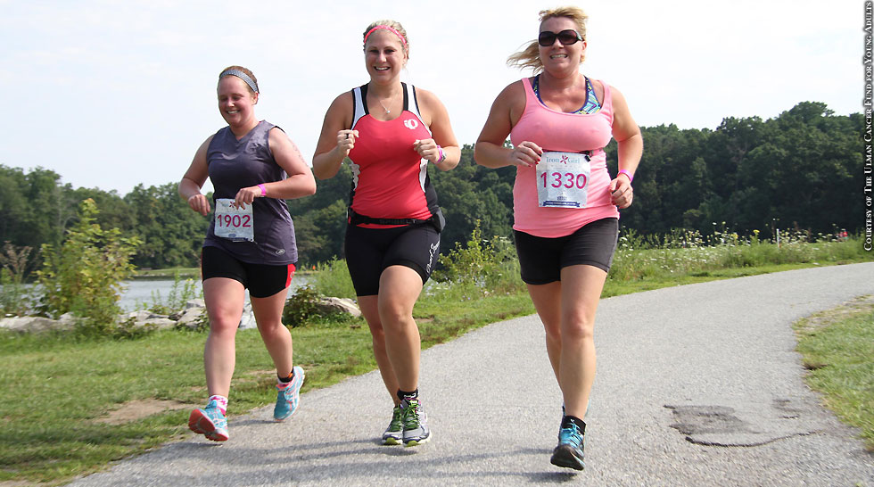 Issue 211: Iron Girl Triathlon (run)
