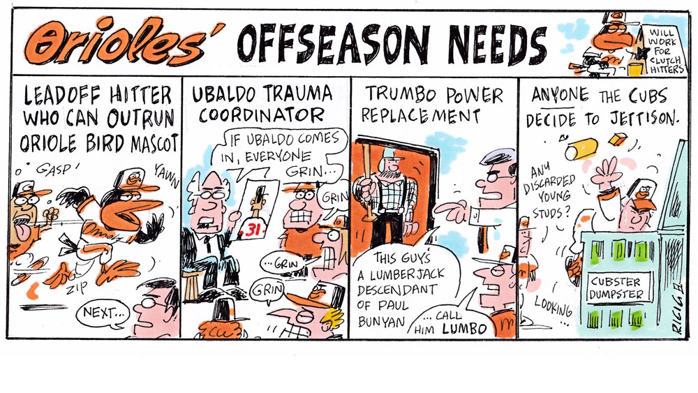 Issue 228: Ricig (Orioles' Offseason Needs)
