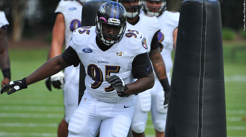 Ravens 2014: Kapron Lewis-Moore (training camp)