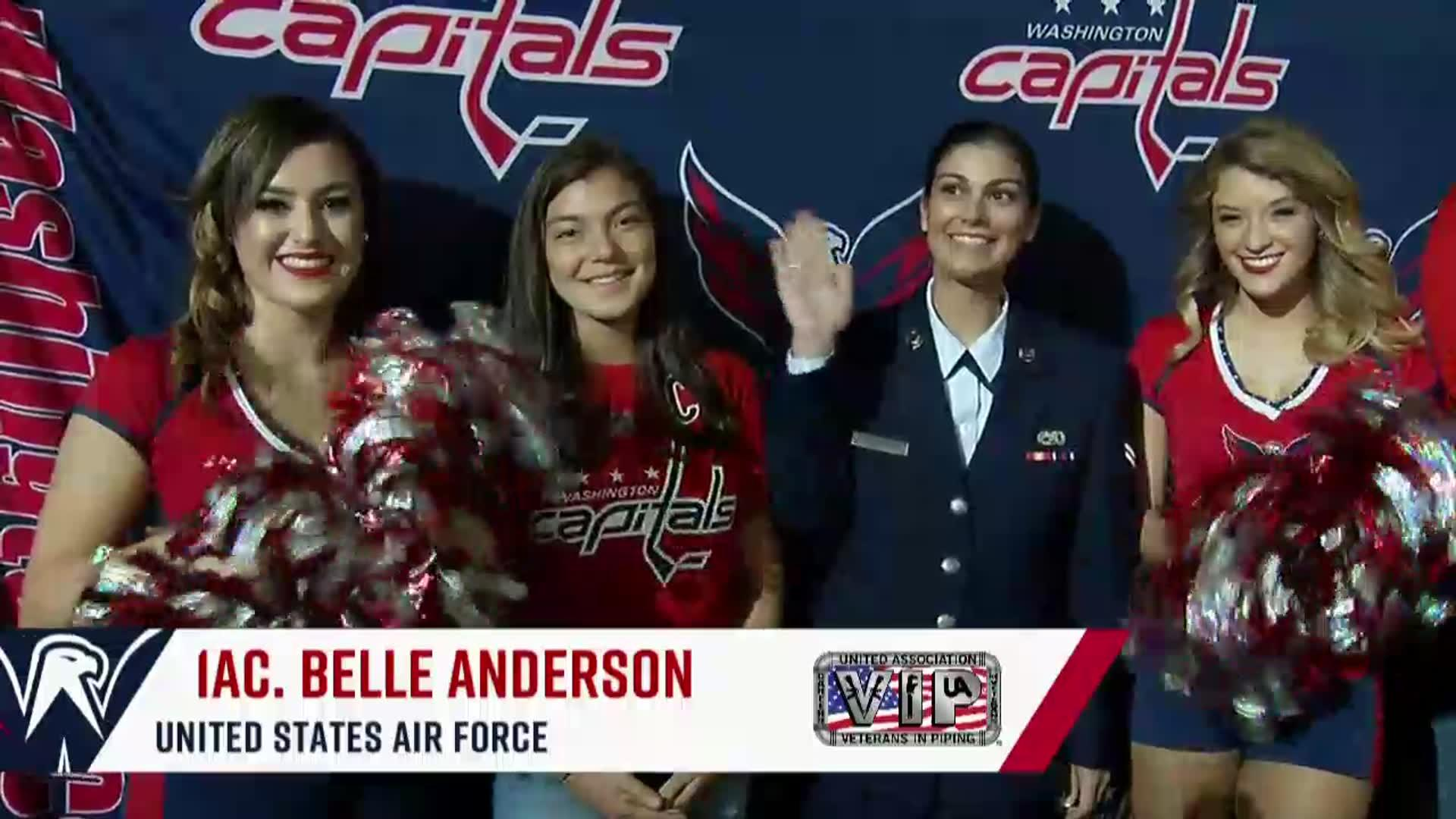 #CapsLeafs Salute to the Troops 10/17/17