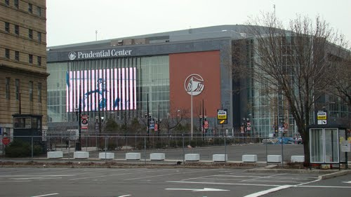 Prudential Center, in Newark