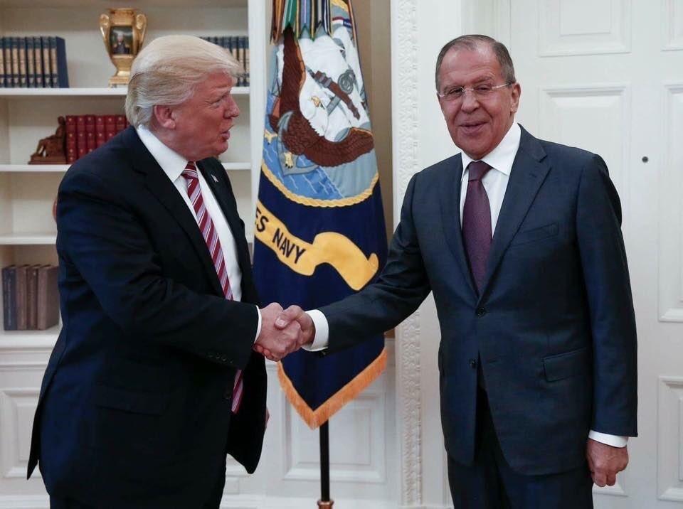 Lavrov, Trump, White House, Oval Office
