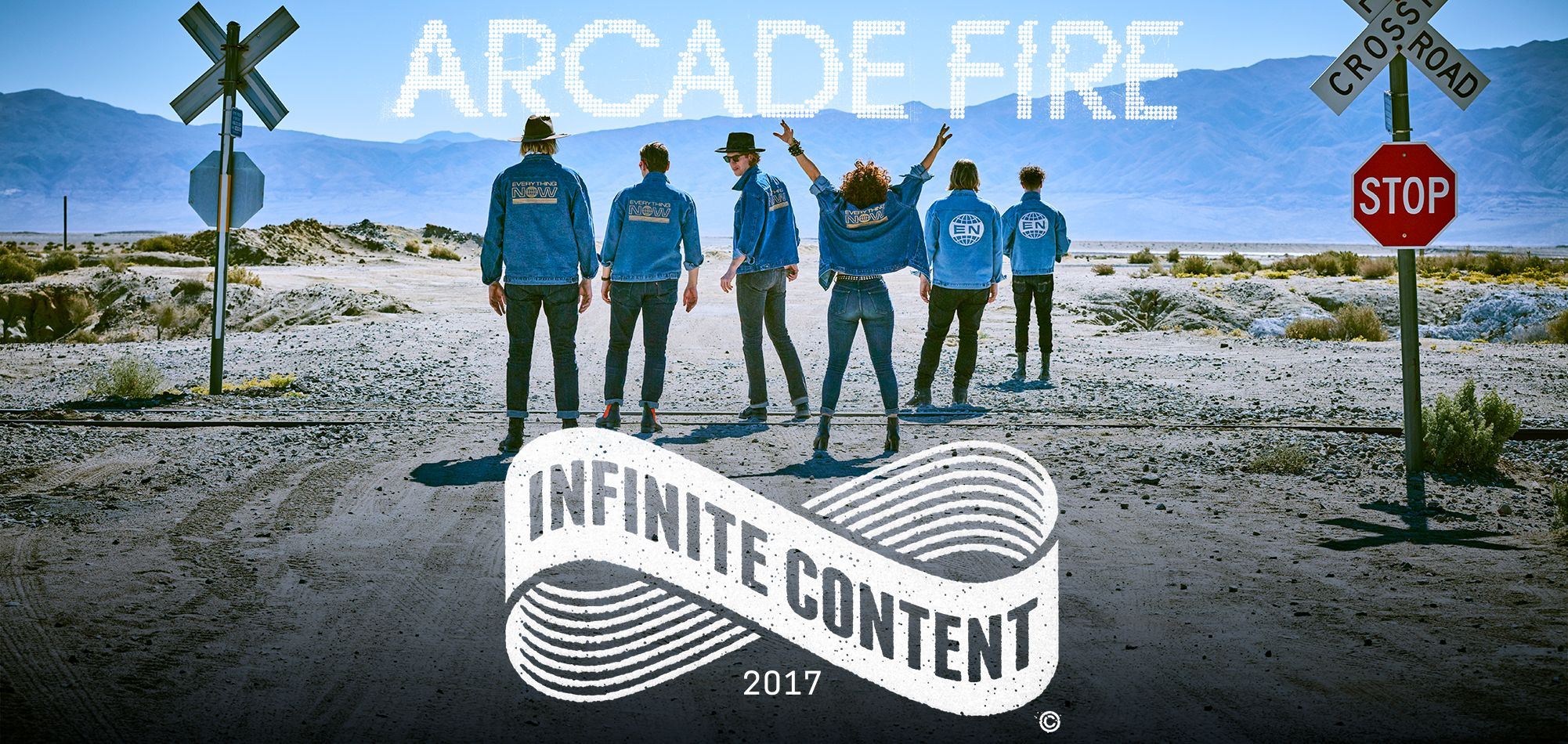 arcade fire to bring infinite content tour across north capital