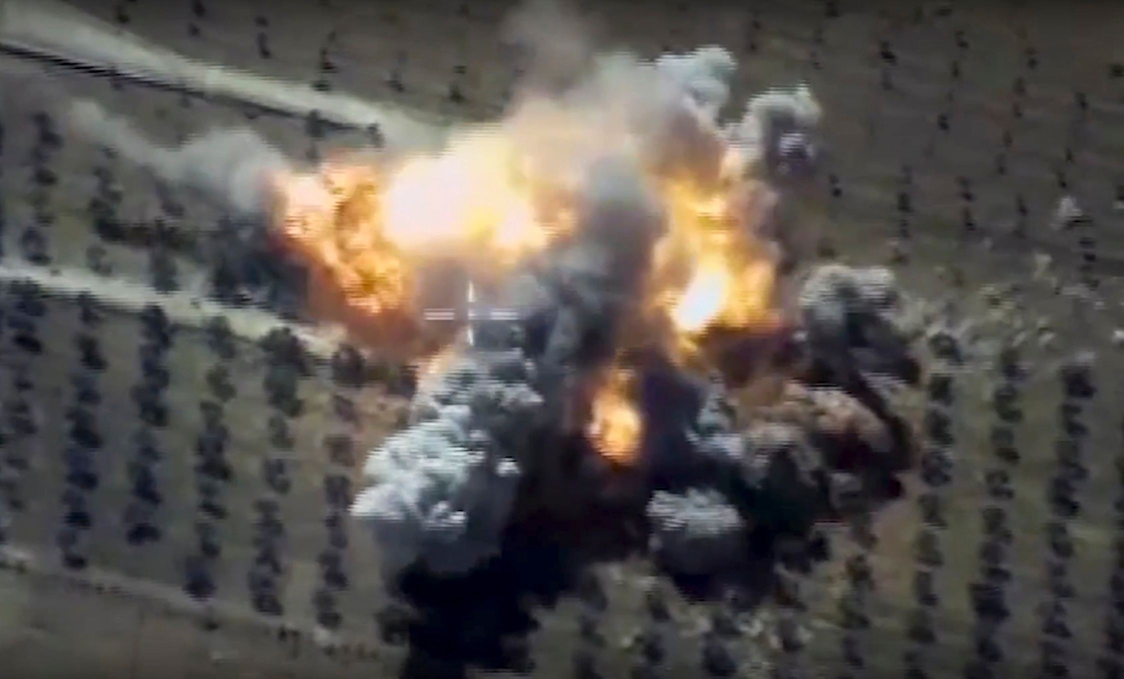 Russian warships fire missiles at ISIS targets in Syria
