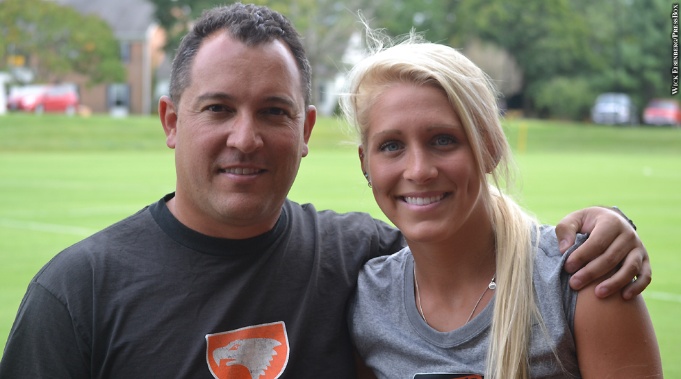 Issue 213: McDonogh Soccer: Bridgette Andrzejewski, Coach Harry Canellakis