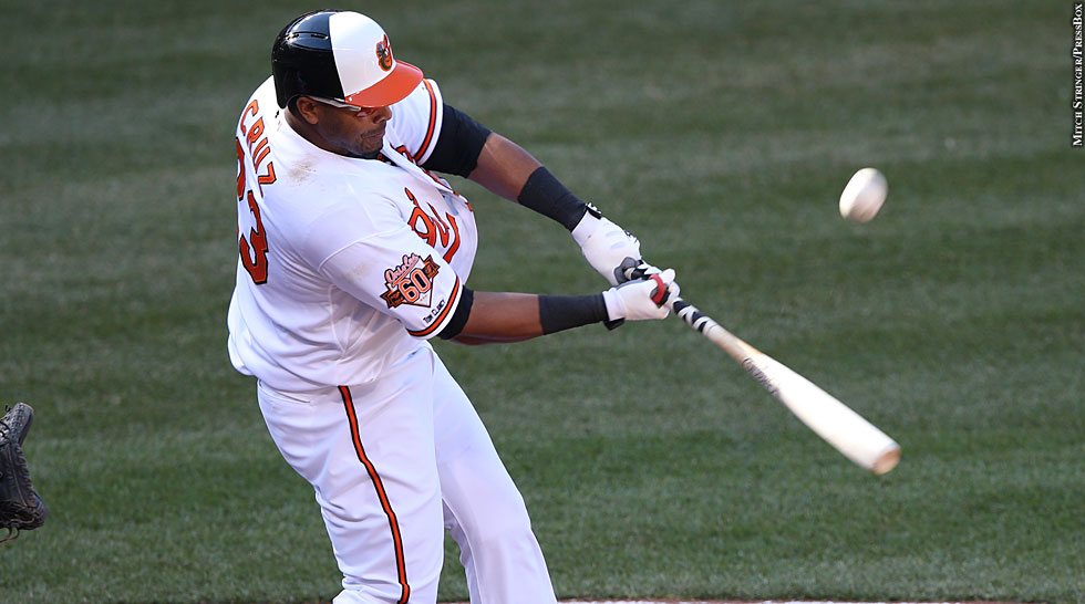 Orioles 2014: Nelson Cruz (batting)