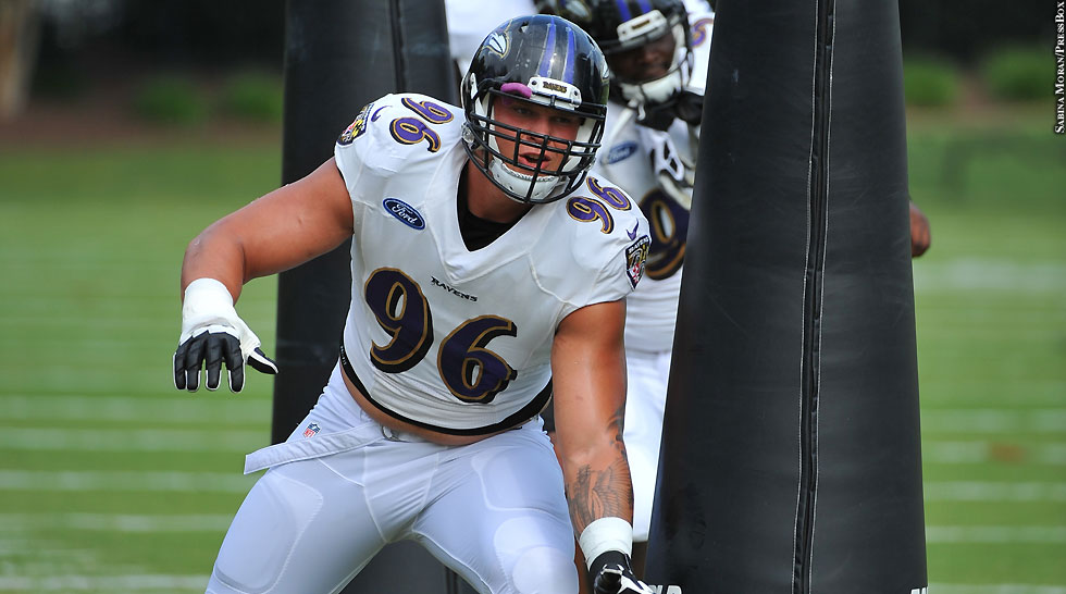 Ravens 2014: Brent Urban (training camp)