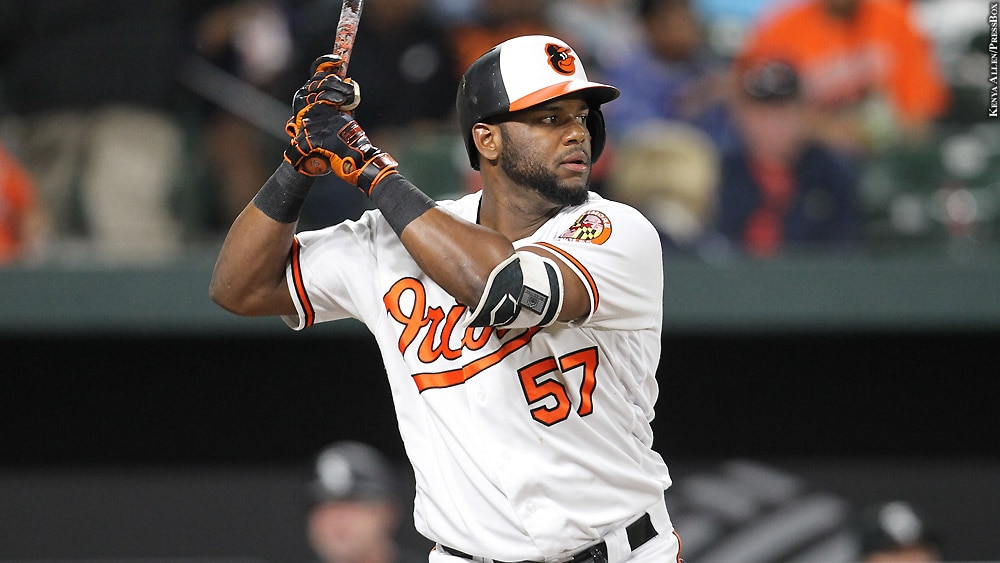 Image result for hanser alberto with orioles