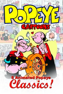 Image of Popeye Cartoons: Eight Animated Popeye Classics