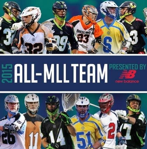 Major League Lacrosse Announces 2015 ALL-MLL Team Present
