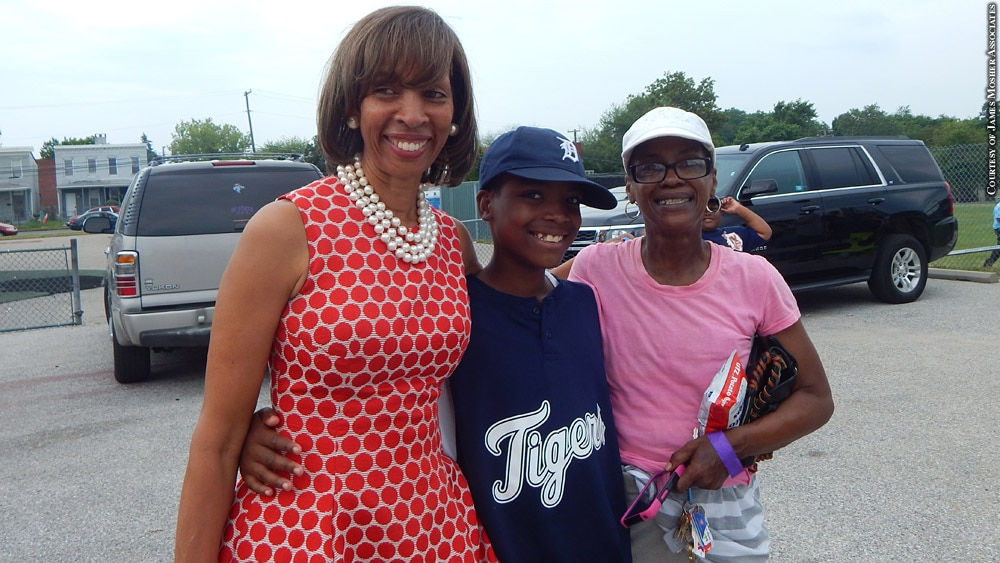 Issue 234: James Mosher Baseball - Mayor Catherine Pugh