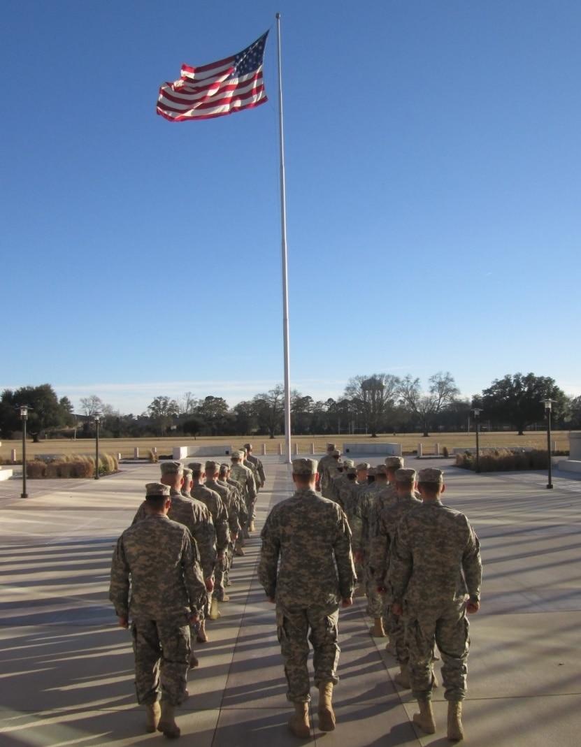Army OCS Flag