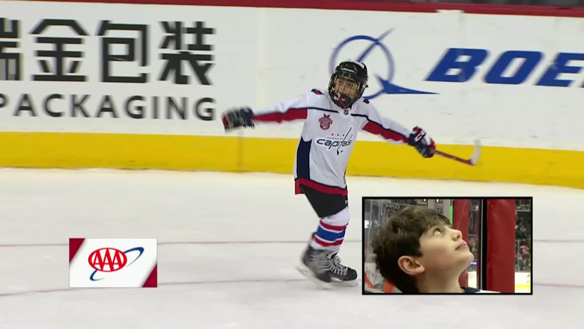 #CapsFlames Mites on Ice 11/20/17