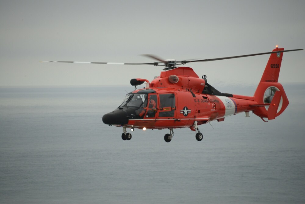 U.S. Coast Guard MH-65 Dolphin Helicopter