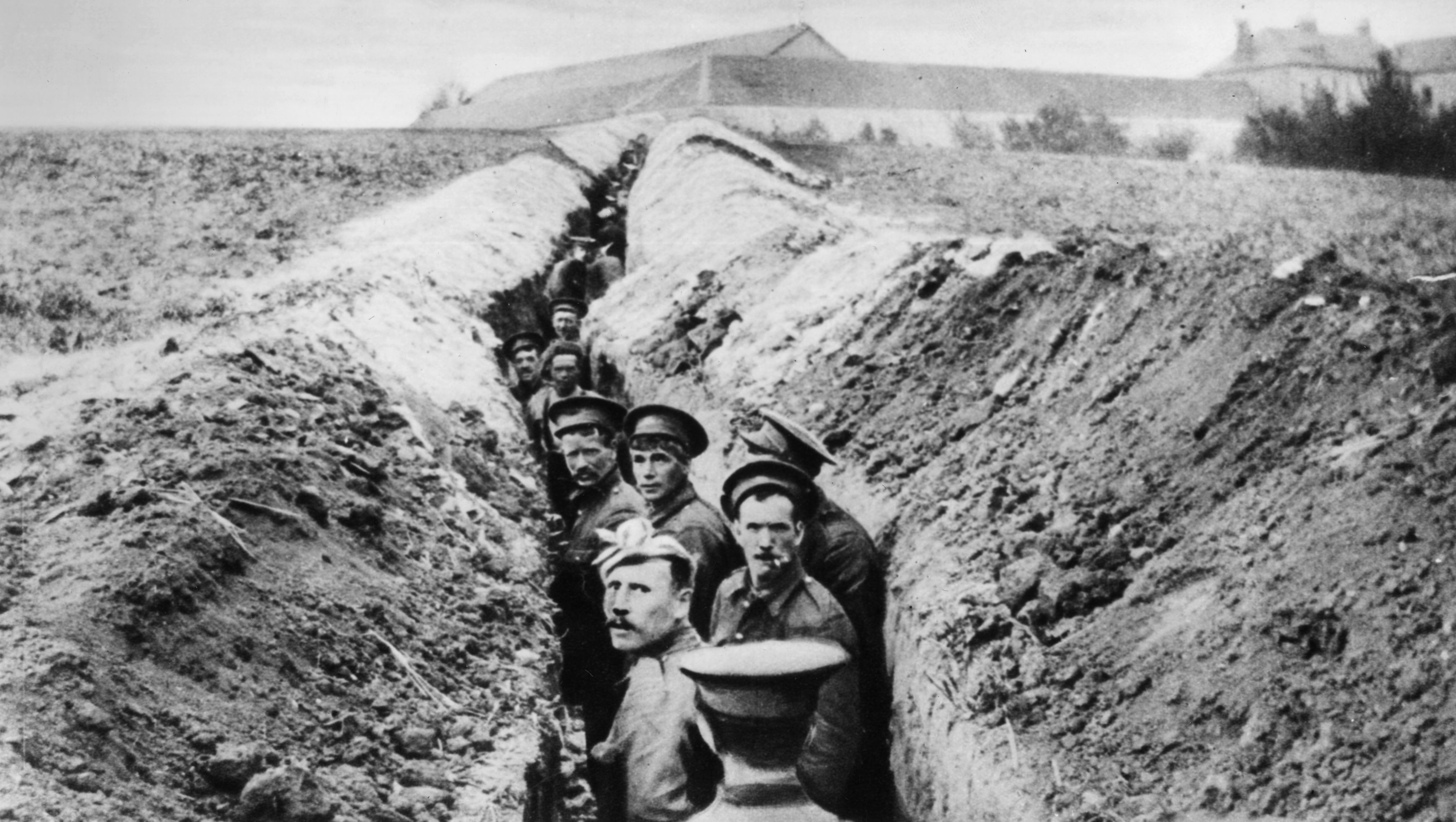 british troops ww1