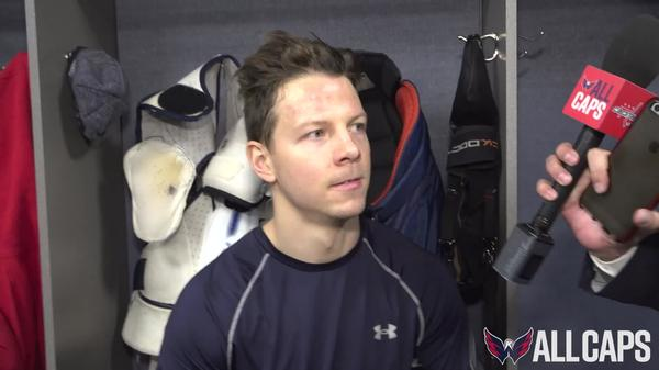 Alex Chiasson Pregame | November 16