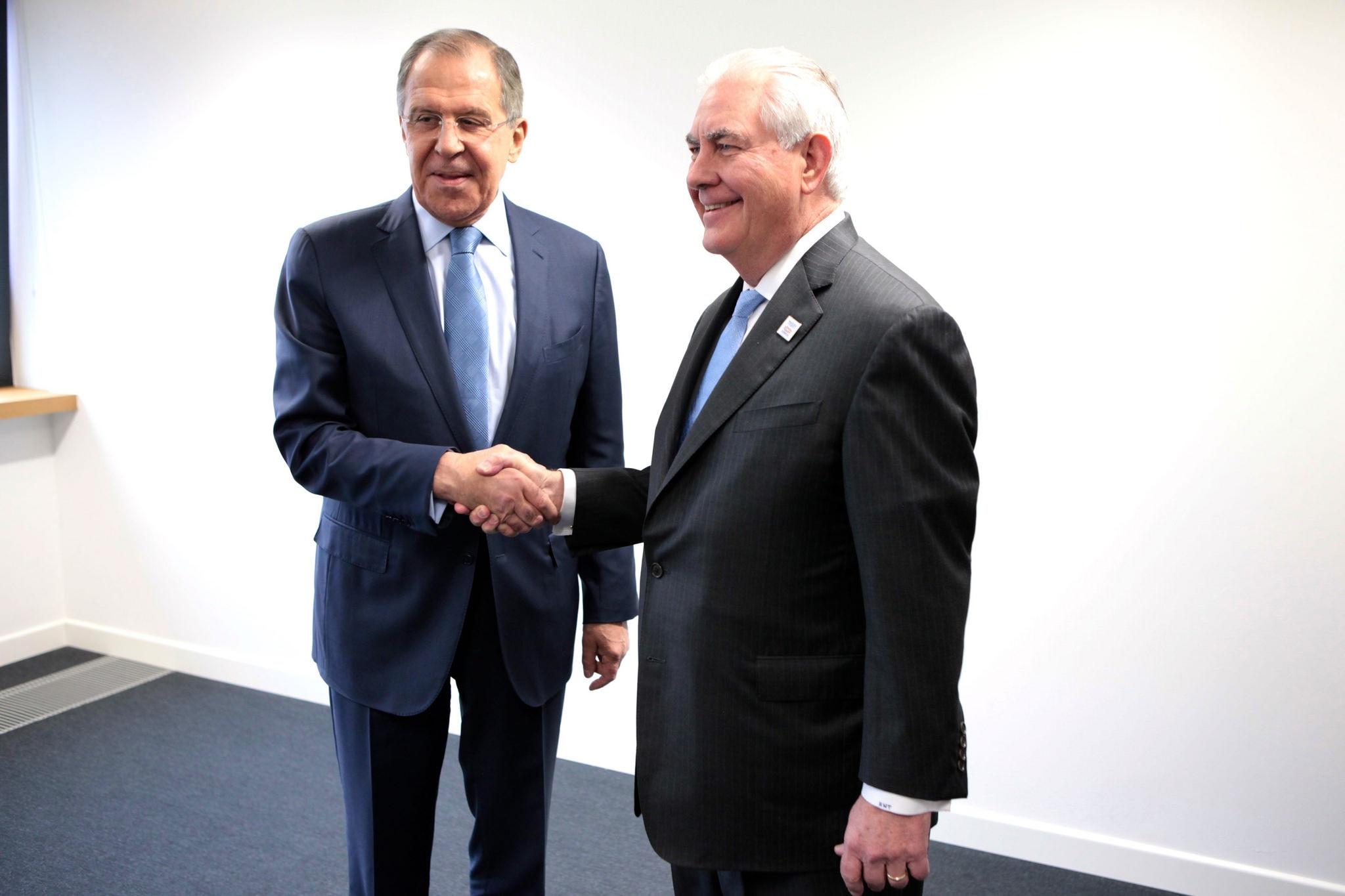 Tillerson, Lavrov