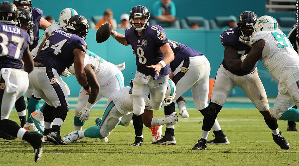 Ravens 2015: Matt Schaub vs. Dolphins (Week 13 vs. Dolphins)