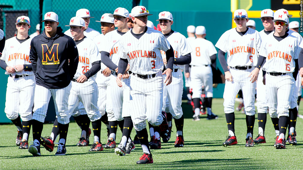 Issue 219: Maryland Baseball 2016 (team, Anthony Papio)
